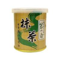 【抹茶 山政 小山園】裏千家 抹茶 苔の白 30g