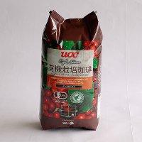 UCC カフェネイチャー有機栽培+レインフオレストアライアンス ダークロースト(豆) 500g